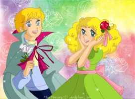 Candy and Anthony by mercuryZ