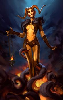 Demoness by VadKaArt