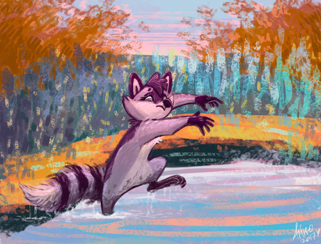 Art fight: Coral by frirro