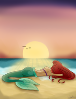 Little Mermaid by nekochan491