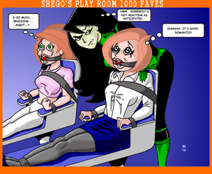 Shego's Play Room 1000 Faves by GrouchoM