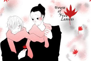House of Five Leaves FANART 2 by Cherushi-chan