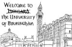 Welcome to Isengard - The University of Birmingham by Charlene-Art