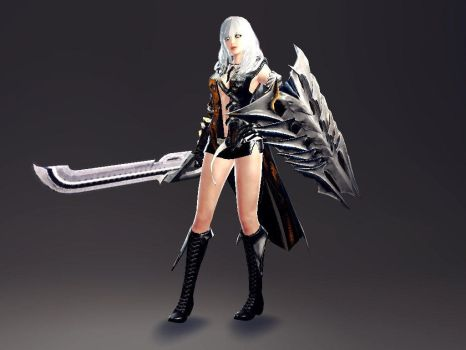 Vindictus - Kisara's other new shield by lucario515