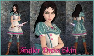 A:MR Skin - Trailer Dress by EvanescentAngel666