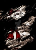 4to sketch +Remilia Scarlet+ by AUTUMANIAC