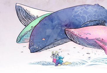 Whales by kyan-dog