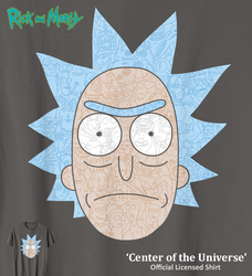 Center of the Universe - tee by InfinityWave