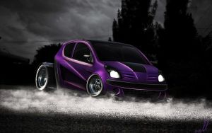 Nissan Pixo - DragBeast by wallla