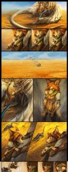 Myre - Relief Short Comic Strip by AlectorFencer