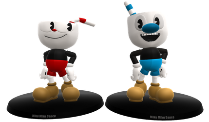 Cuphead and Mugman by Hendersony