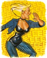 Black Canary Heroes Con 2011 by quin-ones
