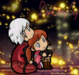 Claire and Dante - Peaceful Moment by ChaoticClaire