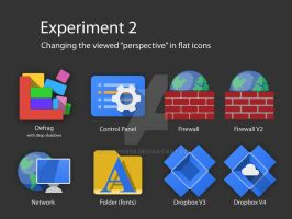 Perspective of Flat Icons by glange65