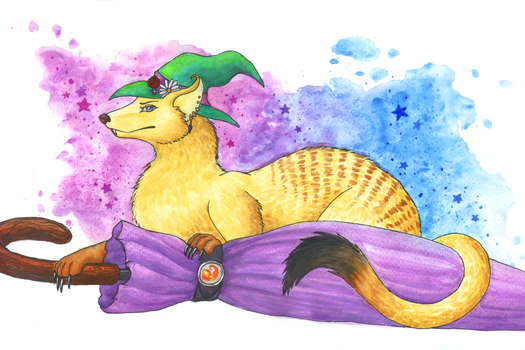 The Mongoose by ShadowTheDragonWolf