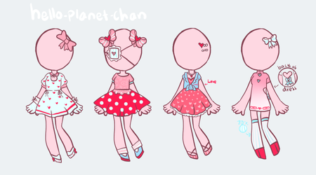[outfit set] - cthonicsquid [13] by hello-planet-chan