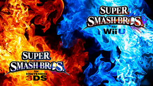 Super Smash Bros. Wii U/3DS Logo Wallpaper #101 by TheWolfBunny