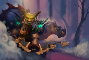 Goblin Hunter by BTauciuc