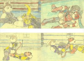 Dcheese Classic: Wrestling #5 by Dressingcheese