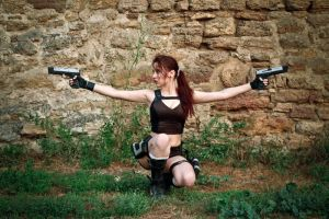 Lara Croft Underworld - double shot by TanyaCroft