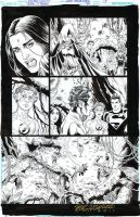 TEEN TITANS #94 Pg 8 Titans in a strange land SOLD by DRHazlewood