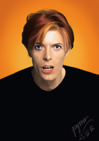 David Bowie by Psyress