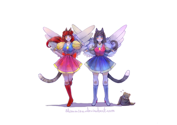 CatsWarriorsAngels!!! Characters by ShionMion