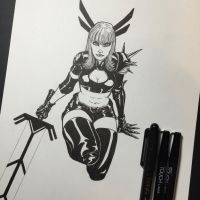 Magik - Inked by amonkeyonacid
