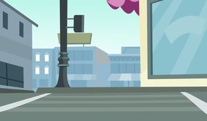 Equestria Girls Street Corner Background by MoHawgo