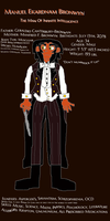 Manuel Bronwyn (reference sheet) by TheSkull31