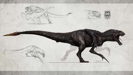 Tyrannosauroidea Matriarch by Tapwing