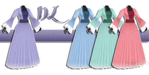 .:: MMD - Medival dress DOWNLOAD ::. by AneCoco