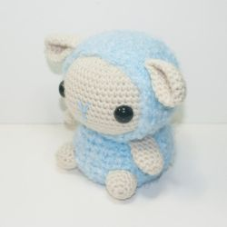 Bo the baby Sheep by Heartstringcrochet