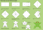 How to Make an Origami Frog by Lydilena