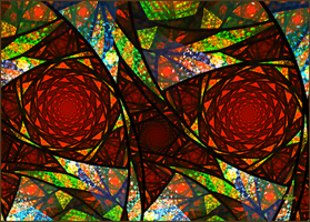 Stained Glass II by baba49