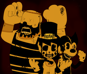 BATIM - The Corrupted Freakshow Posse by Gamerboy123456