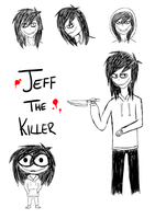 Jeffy doodles by Lutrasauro