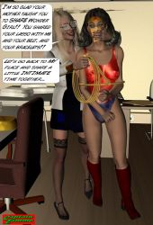 You're mine now, Wonder Girl by CaptainZammo