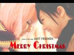 Merry Christmas, friend by elpheal