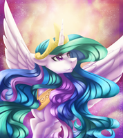 Hail to the Sun Queen by SilentWulv
