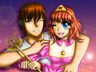 .:Commission:. shawn and Lalabel by colla036