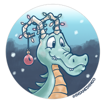 Jingle Jolly Dragon by TheInsaneDingo