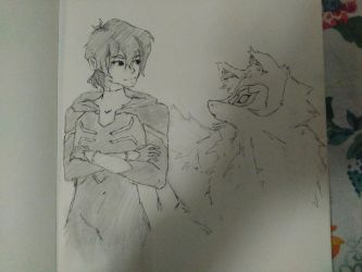 Keith + Space Wolf by leafpoolTC