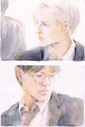 Harry and Draco by lillithium
