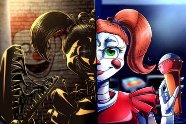 Freakshow Baby/Circus Baby by Fluffy-Ravens
