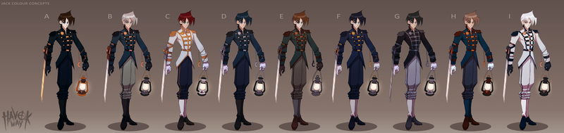 Jack Colour Concepts by Sycra