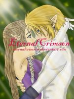 Zelda and Link love by EternalCrimson