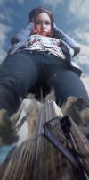 Kaitlin Giantess POV by Gold-Phish