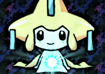 Jirachi's Eye by Noulin123
