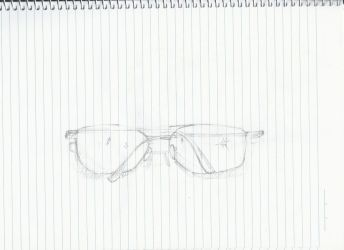 Sunglasses Sketch by elrunethe2nd
